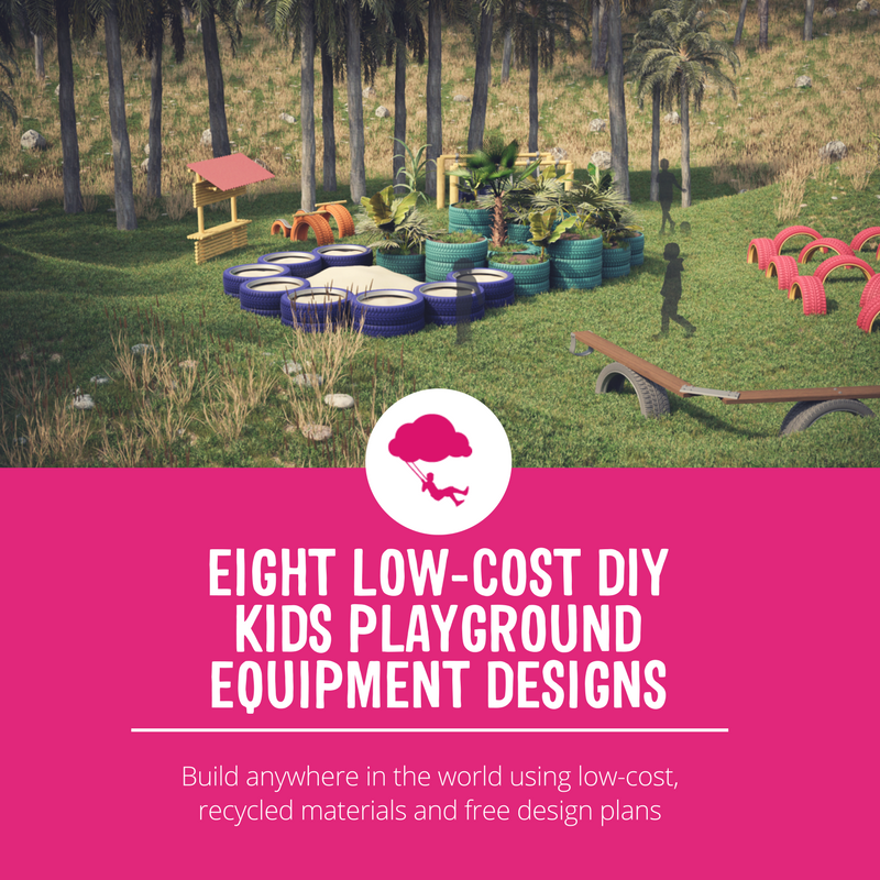 Eight low cost diy kids playground equipment designs for Tavoli design low cost