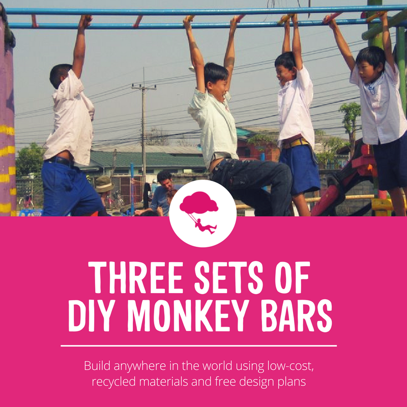 Three Sets Of Diy Monkey Bars Playground Ideas
