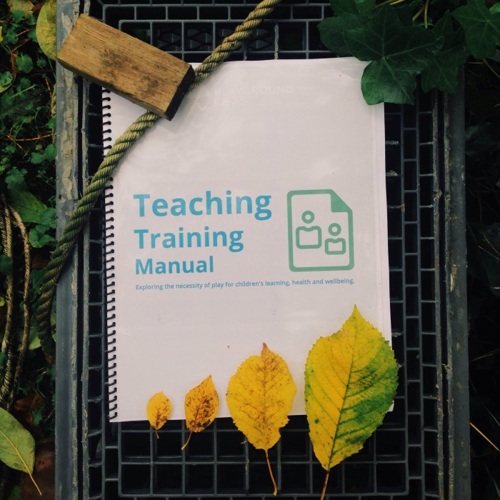 Teacher Training Manual Image