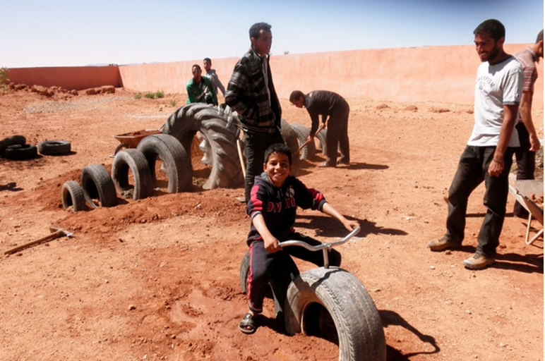 How Playgrounds Went Viral in Morocco